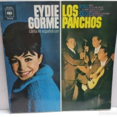 Discos de vinilo: LP-EYDIE GORME- Y LOS PANCHOS EN FUNDA ORIGINAL 1970. Lote 190015322