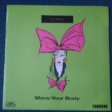Discos de vinilo: D.J. PIERRE* ‎– MOVE YOUR BODY SELLO: AIRPLAY RECORDS ‎– 14.911 FORMATO: VINYL, 7 45 RPM PAÍS: FRA. Lote 190015731