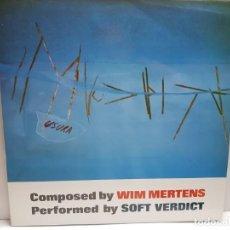 Discos de vinilo: LP-SOFT VERDICT- USURA EORLY WORKS EN FUNDA ORIGINAL 1985. Lote 190015825