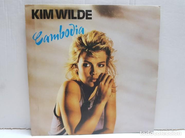 SINGLE-KIM WILDE-CAMBODIA EN FUNDA ORIGINAL AÑO 1982 (Música - Discos - Singles Vinilo - Pop - Rock Extranjero de los 90 a la actualidad)