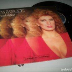 Discos de vinilo: IVA ZANICCHI - NOSTALGIAS. CANTANDO EN CASTELLANO ..LP DE EPIC - 1981 ..10 TEMAS - BUEN ESTADO .. Lote 190028105