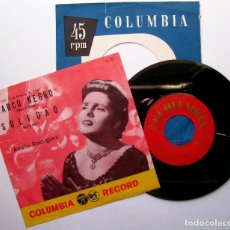 Disques de vinyle: AMÁLIA RODRIGUES - BARCO NEGRO / SOLIDAO - SINGLE COLUMBIA 1956 JAPAN (EDICIÓN JAPONESA) BPY. Lote 190030007