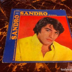Discos de vinilo: SINGLE / EP. SANDRO. SE TE NOTA. TE QUIERO TANTO...1970. Lote 190030088