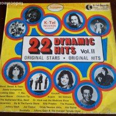 Disques de vinyle: 22 DYNAMIC HITS - VOL.II - LP - 1972. Lote 190034398