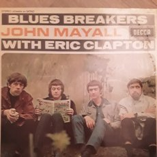 Discos de vinilo: JOHN MAYALL WITH ERIC CLAPTON BLUES BREAKERS. Lote 190040836