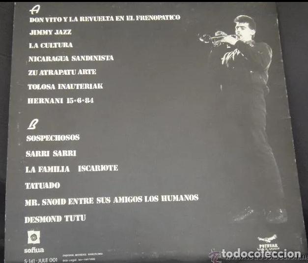 Discos de vinilo: KORTATU LP SOÑUA 1985 CARPETA!!!! (PARA EL QUE LA NECESITE) ESKORBUTO RIP UVI LARSEN NEGU GORRIAK - Foto 2 - 190041230