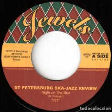 Discos de vinilo: ST PETERSBURG SKA-JAZZ REVIEW - NIGHT ON THE BUS / POLICY OF TRUTH. Lote 190048516