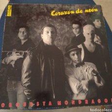 Discos de vinil: ORQUESTA MONDRAGÓN - CORAZÓN DE NEON. Lote 190055131