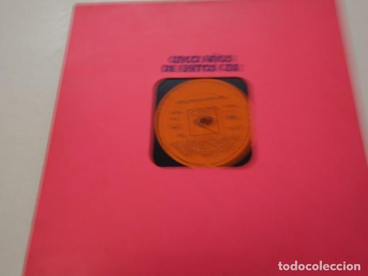3 DISCO VINILO. CINCO AÑOS DE EXITOS CBS (Música - Discos de Vinilo - Maxi Singles - Grupos Españoles de los 70 y 80)