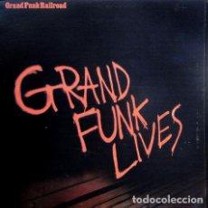 Discos de vinilo: GRAND FUNK RAILROAD – GRAND FUNK LIVES. Lote 190067672