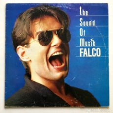 Discos de vinilo: MAXI SINGLE VINILO 45 RPM, FALCO, THE SOUND OF MUSIK, WEA 1986. Lote 190070907