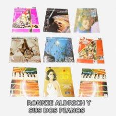 Discos de vinilo: RONNIE ALDRICH Y SUS DOS PIANOS - LOTE 9 L.P.S. -- PHASE 4 STEREO ---NUEVOS A ESTRENAR--MINT (M ). Lote 190089632