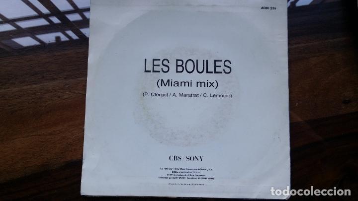 Discos de vinilo: jordy,les boules(miami mix) edicion española del 93 - Foto 2 - 190091312
