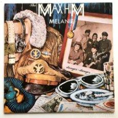 Discos de vinilo: MAXI SINGLE VINILO 45 RPM, THE MAX HIM, MELANIE, BLANCO Y NEGRO 1986. Lote 190097671