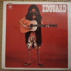 Discos de vinilo: EDOUARD – LES HALLUCINATIONS D'EDOUARD SELLO: CBS – EP 6008 FORMATO: VINYL, 7 , EP PAÍS: SPAIN. Lote 190097673