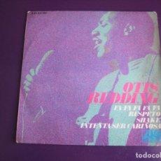Discos de vinilo: OTIS REDDING EP ATLANTIC HISPAVOX 1967 FA FA FA FA / RESPECT/ SHAKE +1 SOUL 60'S. Lote 190099306