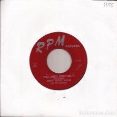 Discos de vinilo: SINGLE JOHNNY GUITAR WATSON RPM 45X436 USA 1955 THOSE LONELY LONELY NIGHTS. Lote 190108875
