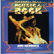 Disques de vinyle: JOHN HENDRIX - HISTORIA DE LA MUSICA ROCK Nº 2 - LP 1982. Lote 190112846