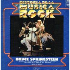 Discos de vinilo: BRUCE SPRINGSTEEN - HISTORIA DE LA MUSICA ROCK. VOL. 95 - LP. Lote 297099453