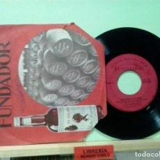 Discos de vinilo: LMV - CONTINUEMOS CON EL RITMO. BALADA DE BONNIE AND CLYDE + 3. DISCO FUNDADOR 1968. EP. Lote 190118482