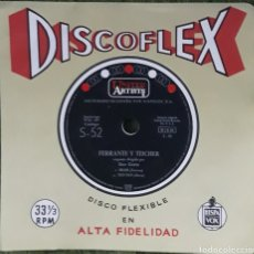 Discos de vinilo: DISCO FLEXIBLE FERIANTE Y TEICHER BRASIL. Lote 190127451