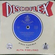 Discos de vinilo: DISCO FLEXIBLE TANGOS INOLVIDABLES. Lote 190128328