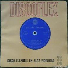 Discos de vinilo: DISCO FLEXIBLE JOTAS DE NAVARRA. Lote 190128455