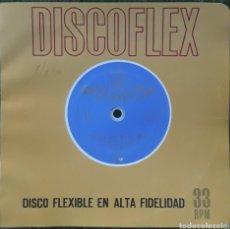 Discos de vinilo: DISCO FLEXIBLE POR MARIO MELFI CAMINITO. Lote 190140680