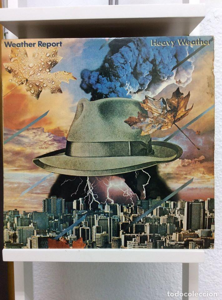 WEATHER REPORT - HEAVY WEATHER - LP - ED.ESPAÑOLA 1977 (Música - Discos de Vinilo - EPs - Pop - Rock Extranjero de los 70)