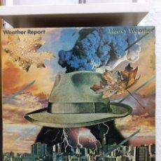 Discos de vinilo: WEATHER REPORT - HEAVY WEATHER - LP - ED.ESPAÑOLA 1977. Lote 190144275