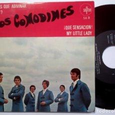 Discos de vinilo: LOS COMODINES - QUE SENSACION - EP 1969 - SAYTON. Lote 190153900