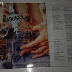 Discos de vinilo: VINILO LP. MADONNA. LIKE A PRAYER. Lote 190155882