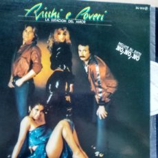 Discos de vinilo: LP ( VINILO)-PROMOCION- DE RICCHI E POVERI AÑOS 80. Lote 205858475