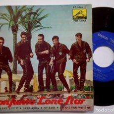 Discos de vinilo: CONJUNTO LONE STAR - TODO ES PARA TI - EP 1963 - LA VOZ DE SU AMO. Lote 190162688
