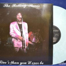 Discos de vinilo: THE ROLLING STONES - LIVE'R THAN YOU'LL EVER BE - 2 LP . Lote 190164820