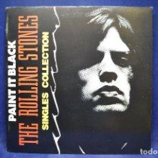 Discos de vinilo: THE ROLLING STONES - PAINT IT BLACK - SINGLES COLLECTION - 2 LP. Lote 190164927