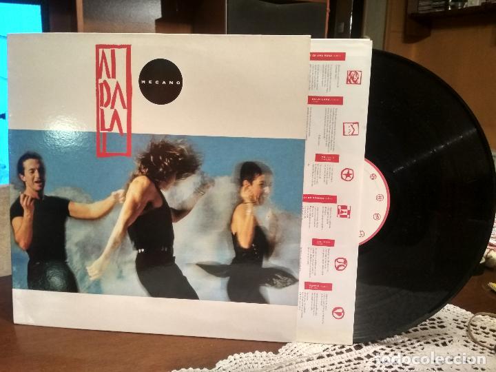 LP - MECANO - AIDALAI CON ENCARTE LETRAS (Música - Discos - LP Vinilo - Grupos Españoles de los 90 a la actualidad)