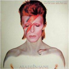 Discos de vinilo: DAVID BOWIE - ALADDIN SANE - LP SPAIN 1976 (RE) - RCA VICTOR LSP-4852. Lote 190170021