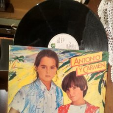 Discos de vinilo: ANTONIO Y CARMEN SOPA DE AMOR LP 1982 WEA EDICION ESPAÑOLA SPAIN PEPETO. Lote 190170795