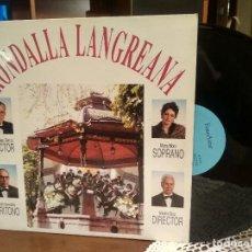 Discos de vinilo: RONDALLA LANGREANA (FONOASTUR 1994) LP ASTURIAS NUEVO¡¡ PEPETO. Lote 190172223