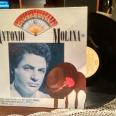 Discos de vinilo: ANTONIO MOLINA VOL. 2 - ANTOLOGÍA DE LA CANCION ESPAÑOLA - EDICIÓN 1987 ESPAÑA PEPETO. Lote 190173951