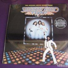 Discos de vinilo: SATURDAY NIGHT FEVER - BSO - DOBLE LP RSO 1977 - BEE GEES - TAVARES - TRAVOLTA - CINE - DISCO 70'S . Lote 190176286