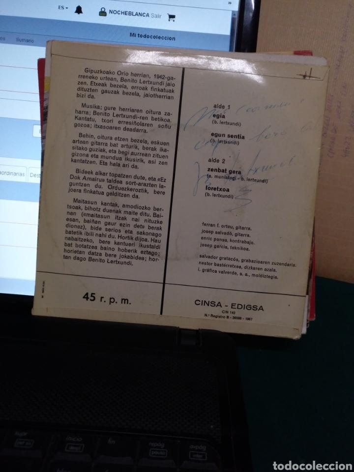 Discos de vinilo: Benito lertxundi. Edigsa/CINSA 1967 - Foto 2 - 190176400