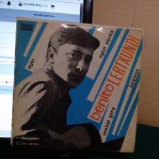 Discos de vinilo: BENITO LERTXUNDI. EDIGSA/CINSA 1967. Lote 190176400