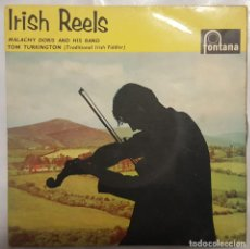 Discos de vinilo: EP / MALACHY DORIS AND HIS BAND WITH TOM TURKINGTON / IRIS REELS / 1962 INGLATERRA. Lote 190197858