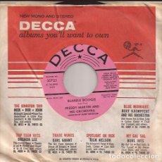 Discos de vinilo: SINGLE FREDDY MARTIN ORCH. BUMBLE BOOGIE DECCA 25723 USA PROMO DJ COPY 195??. Lote 190200402