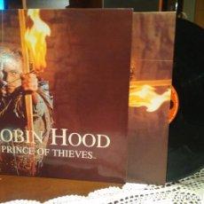 Discos de vinil: ROBIN HOOD PRINCE OF THIEVES - LP POLYDOR 1991 SPAIN + ENCARTE- BSO. Lote 211459420