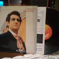 Discos de vinilo: PLACIDO DOMINGO - CANCIONES MEXICANAS / LP / CBS / 1982. Lote 190202226
