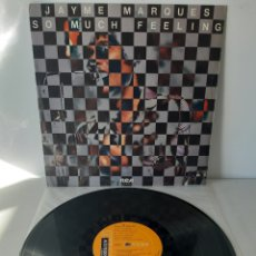 Discos de vinilo: JAYME MARQUES. SO MUCH FEELING.. Lote 190203670