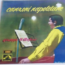 Discos de vinilo: CANZONI NAPOLITANE POR GIUSEPPE DI STEPHANO. Lote 190211336